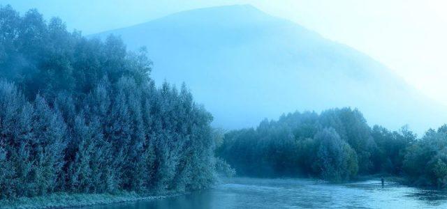Река долины конпаков