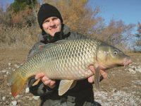 Ловля сильных рыб в холодной воде