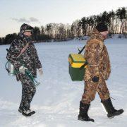 Зимний поиск налима на озёрах и водохранилищах
