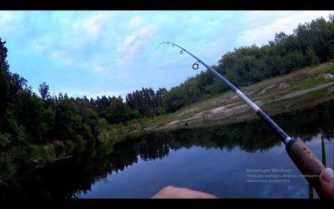 УУх какая поклевка!!Какое сопротивление!Рыбалка на спиннинг.