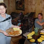 Рулет из бутора — исконно русского блюда