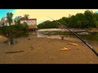Рыбалка на прекрасной речке.Рыбалка весной 2017
