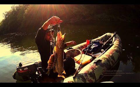 ловля на джиг | ловля на воблер | щука,окунь,голавль | видео 1080